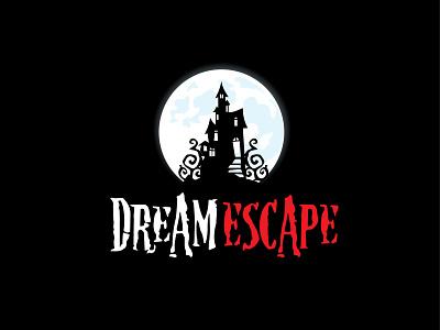 DreamEscape branding logo logo design vector illustration