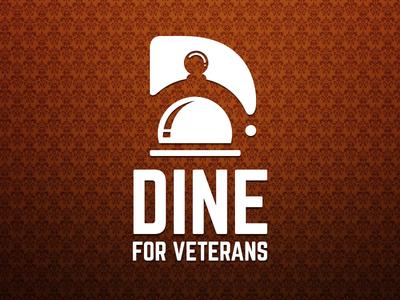 Dine for Veterans branding vector design illustration logo design graphic design