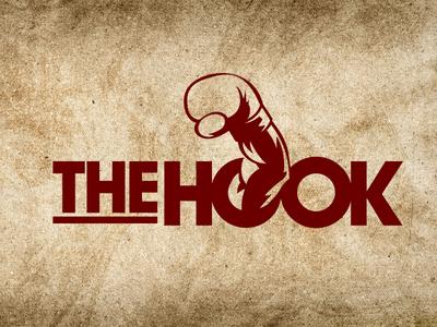 The Hook Boxing vector logo illustration logo design branding