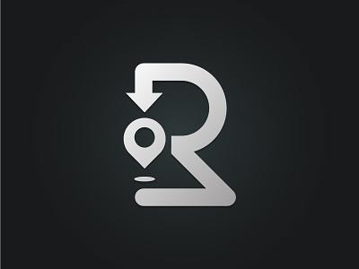 Route illustration logo vector logo design branding
