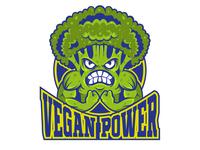 Vegan power print