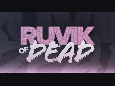 Ruvik of Dead zombie brain video youtube gaming logo