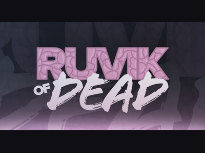 Ruvik of Dead zombie brain video youtube gaming logo