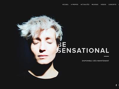 Jeanne Added website music redeisgn