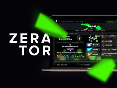 ZeratoR V2 streaming stream live game gaming