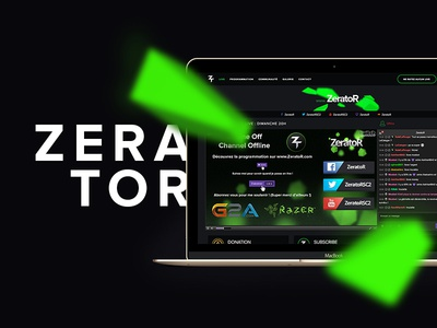 ZeratoR V2 streaming stream live game gaming