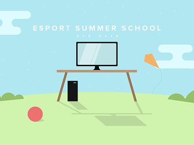 Esport Summer School V2 game 2016 summer esport school gaming