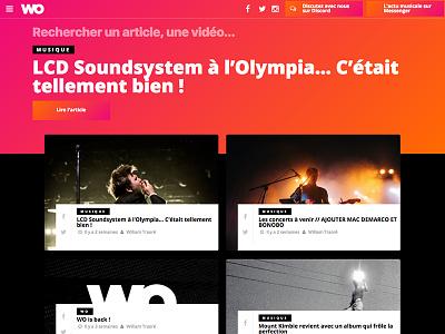 WO blog news journal media music wo
