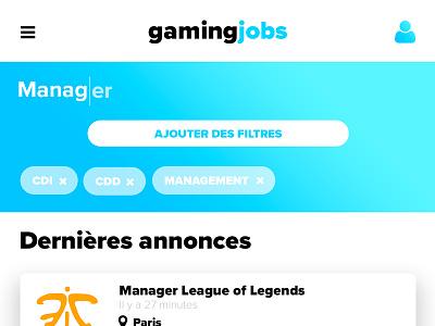 Gaming Job Desk desk job desk game e-sport job esport gaming