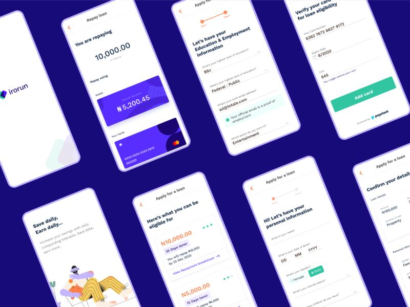 Irorun App Design
