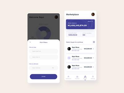 Fundcolony App Design 2 ux design uiux userinterface user interface design appdesign iphone app vector mobile app design mobile design ui