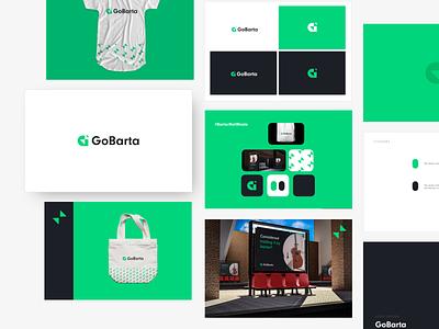 GoBarta Branding vector logos logodesignlove logodesign logotype case study branding design brand design branding logo design brand identity logo