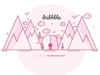 Entering Dribbbleville