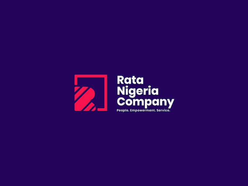 Rata Logo Dribbble 15 company nigeria rata for design logo