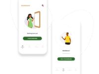 Feedback App Screens