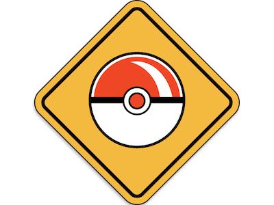 Caution Poke Zone