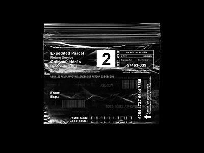 Ziplock Label Design concept brand label design black label design
