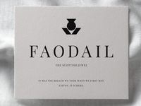 Faodail Invitation Card