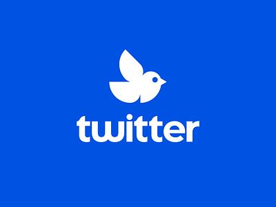 Twitter Logo Proposal (For Fun) proposal fun logo redesign twitter