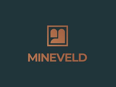 Mineveld Brand Identity banking investment gold logo identity brand minveld