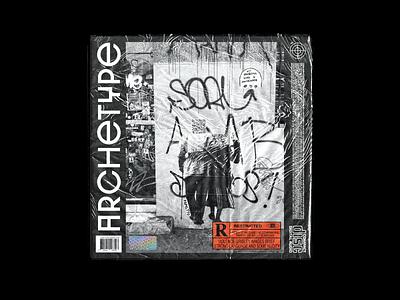 CD Cover  Art modern black branding logo art design cover cd