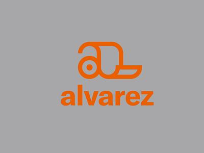 alvarez Logo logo design modern brand concept design logo