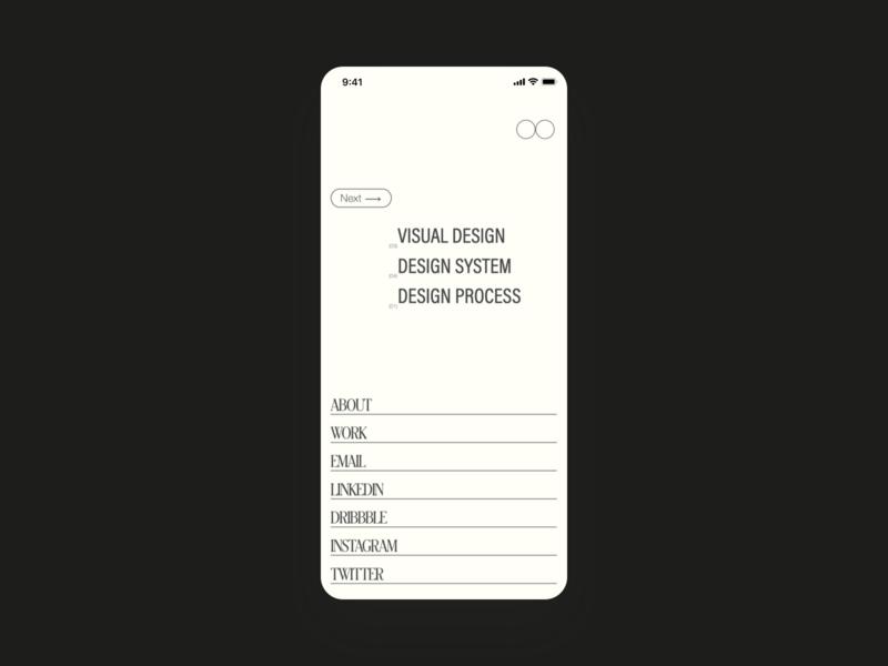 IB — folio 2020 design process information architecture design system research website user experience userinterface product designer designer typogaphy visual design product design ux ui design