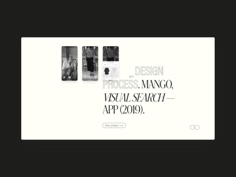 IB — folio 2020 product designer folio design system designer portfolio porfolio website research design process visual design product design ux ui designer design