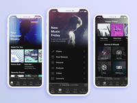 Spotify iOS Redesign