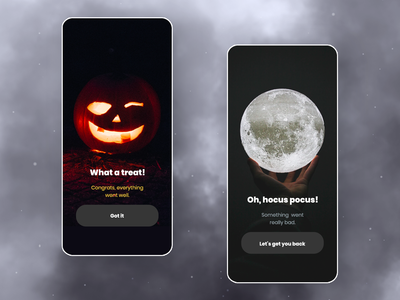 Halloween Costume App - Flash Messages