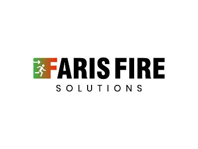 Farish Fire Logo icon vector typography branding design dribbble logo identity logo