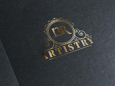 Bluerubyartistry Logo beauty saloon logo identity logo