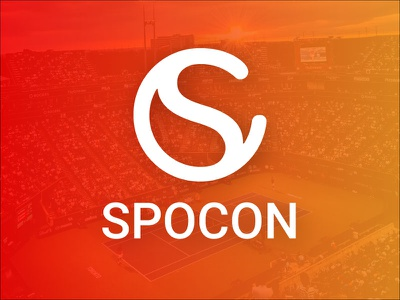 Spocon Logo connect sports logo identity logo
