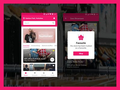 Ecommerce App ui offers ecommerce app mobile app design