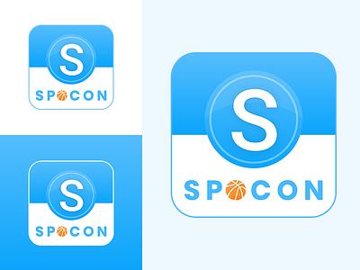 Sports App Icon icon dribbble app academy sports appicon ui logo