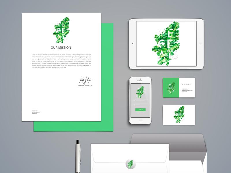Vegeats Branding website icon typography logo brand book mockup logo design design branding