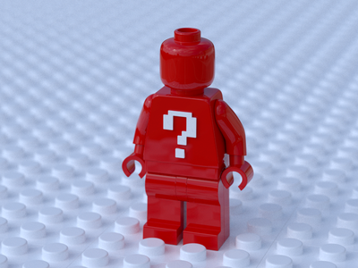 LEGO Minifig minifigure render lego 3d