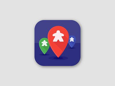 Daily UI #005 : App Icon vector mobile boardgame board game app icon icon branding app ui challenge 3petitspixels logo illustration illustrator dailyui design