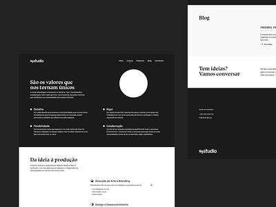 96studio — Website studios about culture blog web ui studio webdesign website