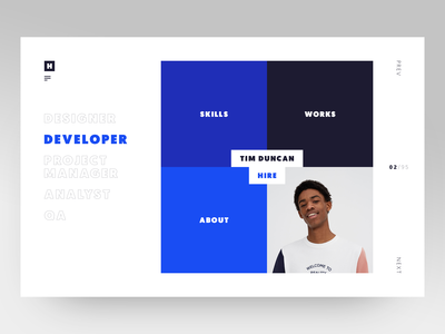 Hired Website