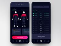 Training App Interface