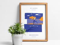 St Kilda Poster