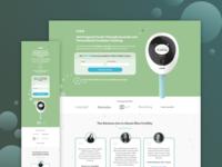 Mira Fertility Landing Page