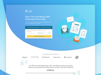 Lob Print & Mail API Landing Page