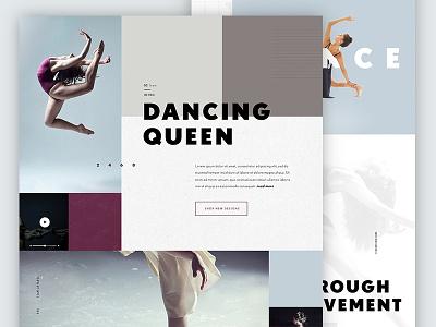 Mood Board Exploration layout web design website style tile mood board typography type design