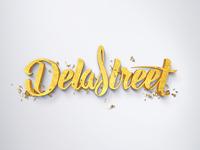 Lettering Delastreet