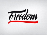 Lettering Freedom