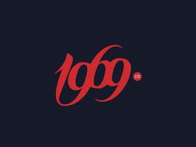 Logotype1969 Limited lettering logotype hand lettering type font calligraphy