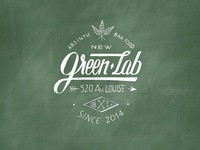 Greenlab logotype v2 - Absinth Gin Bar & Food