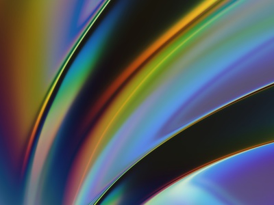 HOLO 3 chroma rainbow colorful chromatic aberration refraction glass spectrum colors filter forge abstract art design